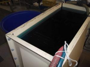 蓄熱槽内 防錆剤投入
