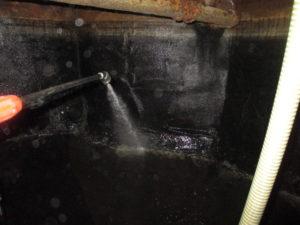 蓄熱槽清掃
